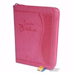 Si buscas Biblia Flexible Rosada Con Índice Y Cierre Letra Gigante puedes comprarlo con TIENDAPABLUS está en venta al mejor precio