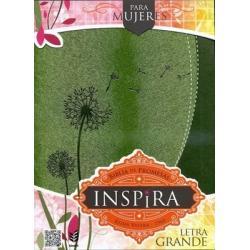 Si buscas Biblia De Promesas Inspira Letra Grande Piel Especial Verde puedes comprarlo con TIENDAPABLUS está en venta al mejor precio
