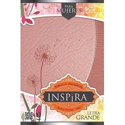 Si buscas Biblia De Promesas Inspira L Grande Piel Especial Oro Rosado puedes comprarlo con TIENDAPABLUS está en venta al mejor precio