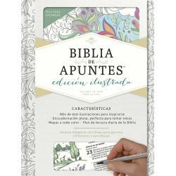 Biblia De Apuntes Blanca Para Colorear Reina Valera