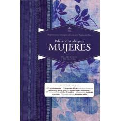 Biblia De Estudio Para Mujeres R V 1960, Tela Impresa Indice