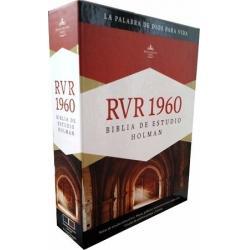 Biblia De Estudio Holman Rvr60 Reina Valera 1960