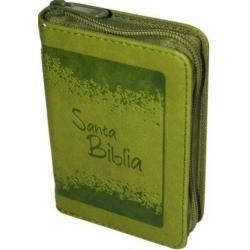 Biblia Bolsillo Con Cierre - Verde Reina Valera 1960