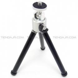 Tripode Miniatura Altura Ajustable 14,5cm Beston Cabezal Giratorio