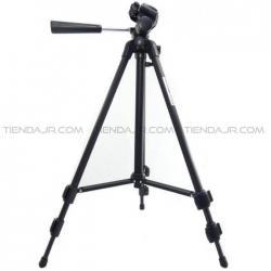 Tripode Para Camara De Fotografia Video En Aluminio Ajustable 116 Cm