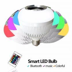 Mp3 Lampara Multicolor Parlante Led Bluetooth Usb Control