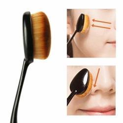 Si buscas Brocha Cepillo Oveja Ovalada Profesional Maquillaje puedes comprarlo con GLOBALMARKTRADINGSERVICES está en venta al mejor precio