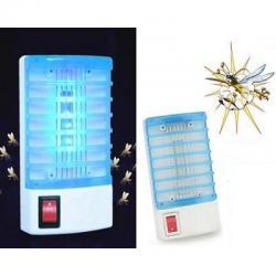 Lampara Mata Zancudos Mosquitos Led Electriaca Casa