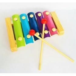 Xilófono De Madera Didáctico Infantil Estimulacion Musical