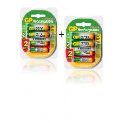 Si buscas Baterias Pilas Gp Recargables 4 Aax2700 + 4 Aaax1000 Mah puedes comprarlo con GLORIAYANETHMORENOURIBE está en venta al mejor precio