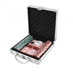 Si buscas Set Poker 100 Piezas Maleta Metálica Juego De Azar Dados puedes comprarlo con GLORIAYANETHMORENOURIBE está en venta al mejor precio