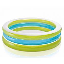 Si buscas Piscina Inflable Verde Intex 203cmx51cm Casa Finca puedes comprarlo con MCKTOYS está en venta al mejor precio