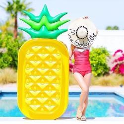 Si buscas Flotador Inflable Gigante Piña 180*90cm puedes comprarlo con MCKTOYS está en venta al mejor precio