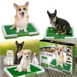 Tapete Entrenamiento Puppy Potty Baño Pasto Perros Canino