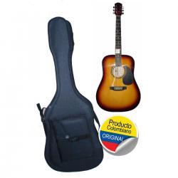 Estuche Semiduro Forro Guitarra Folk Aire Artesanal