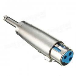 Si buscas Convertidor Adaptador Xlr 3 Pines Hembra A Plug 1/4 puedes comprarlo con DRACMA STORE está en venta al mejor precio