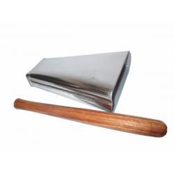 Campana Cencerro Mano Grande D Salsa Golpeador 20x5x15.5cms