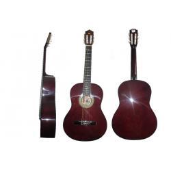 Guitarra Clásica Palmer Gran Calidad Y Sonido Vino Tinto