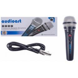 Micrófono Dinámico De Cable 3 Metros Unidireccional Art224