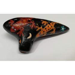 Ocarina Aire Artesanal Ceramica 9.5 Cms 8 Agujeros