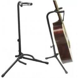 Atril Soporte Base Guitarra Bajo Cuello Largo Aire Artesanal