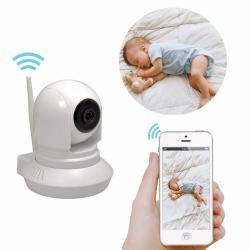 Si buscas Camara Ip Vigilancia Monitor Bebe Doble Via Wifi Sensor Movi puedes comprarlo con DRACMA STORE está en venta al mejor precio