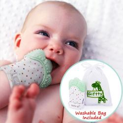 Baby Mordedor Dentición Manoplas By Giftty, Self Soothing &