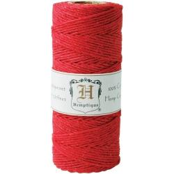 Hemptique Cordón Cola De 20 Libras, Rojo