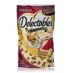 Hartz Delectables Gourmet Crunchy Cat Trata De Pollo Asado
