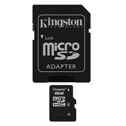 Tarjeta De Memoria Flash Kingston 8 Gb Microsdhc Class 4 Sdc