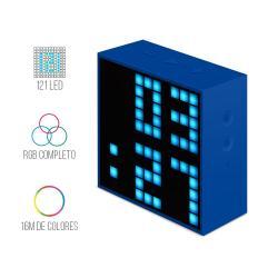 Si buscas Divoom Timebox Mini Bocina Bluetooth Leds Pixel Programable puedes comprarlo con New Technology está en venta al mejor precio