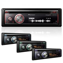 Autoestereo Pioneer Deh-x8800bhs Bluetooth Usb Ipod Colores