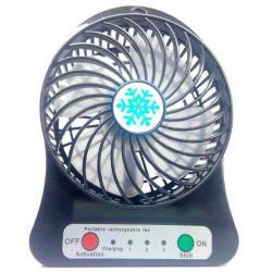 Ventilador Portatil 3 Velocidades Bateria Recargable Mini