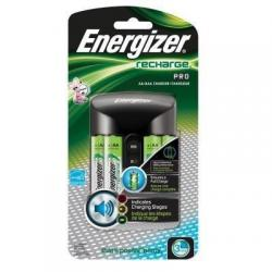 Energizer Cargador De Pilas Aa/aaa Con 4 Pilas Aa Chprowb4