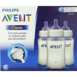 Philips Avent Scf566/37 Botellas Clasic Plus, Libres Bpa
