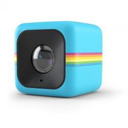 Polaroid Cube + 1440p Mini Camara Con Wifi En Azul