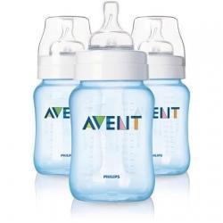 Philips Avent Classic + Scf565/37 3 Botellas 9oz Bpa Azul