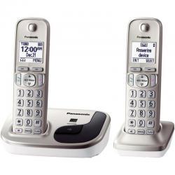 Si buscas Panasonic Kx-tgd212n Auriculares Y Telefono Fijo Dect_6.0, puedes comprarlo con BODECOR está en venta al mejor precio
