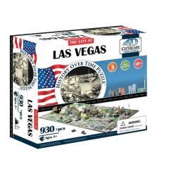 Rompecabezas 4d Cityscape Las Vegas Cty-4d107
