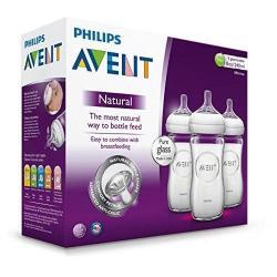 Philips Avent Scf673/17 Paq De 3 Botellas De Cristal 8oz