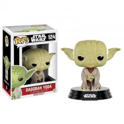 Funko Pop 10105 Star Wars Figura De Accion De Dagobah Yoda