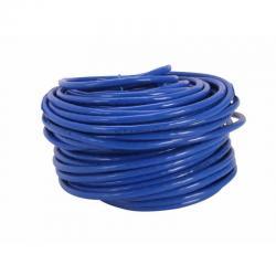Cable Red Utp Rj45 Cat6 0.57mm Azul Tramo 100 Metros