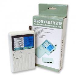 Probador Tester Cables Usb Bnc Rj45 Cat 5 Cat 6 Y Rj11