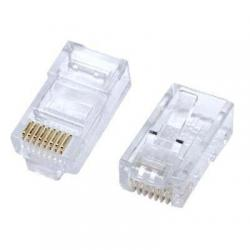 Conector Plug Rj45 Cat5 Bolsa Con 100 Pz Xcase Oferta