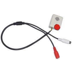 Microfono Ambiental Especial Para Camaras Video Cctv