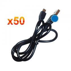 Si buscas Lote 50 Cables Usb A Micro Usb Para Celulares Tablets 80 Cms puedes comprarlo con TEC-DEPOT está en venta al mejor precio