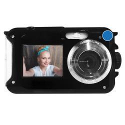 Camara Digital 24 Mp Contra Agua 2 Pantallas Selfie Flash Ms