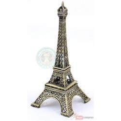 Replica Torre Eiffel Metal 33cm Decoración Adorno Regalo