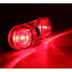 Ultra Brillante 3modos Luz Roja Para Bicicleta Resiste Agua