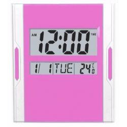 Reloj D Pared Digital Alarma Fecha Día Hora Reloj Mesa 6873